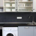 FANA - Waschmaschine und Küche